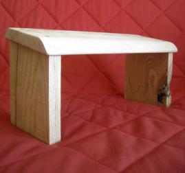 Zazen stool by Kannon McAfee
