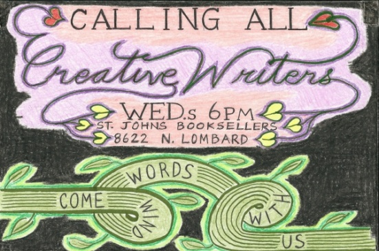 St. Johns writers flyer